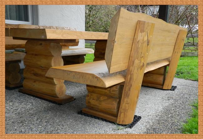 Gartentisch Massivholz